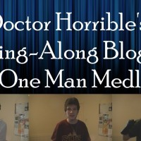Doctor Horrible's Sing Along Blog (A One Man Medley) - YouTube