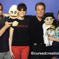 Cursed Creations puppets w/ Juliet and James