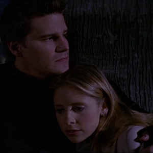 "Buffy and Angel in ""Forever"""